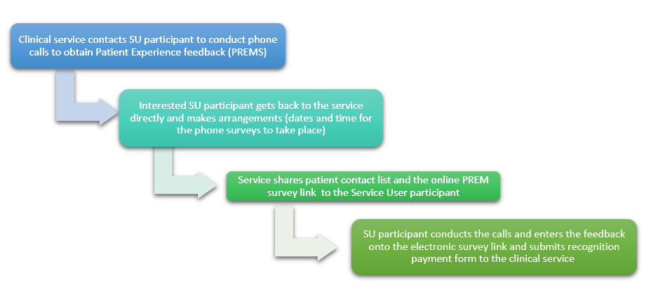 Call for Service User Participants to Collect Patient Experience Feedback